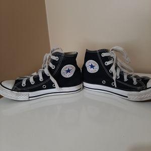 Black Converse High Top Chucks